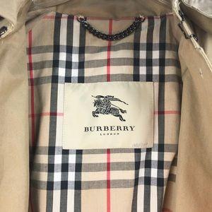 Burberry Navy Donkey Jacket Nova Lining